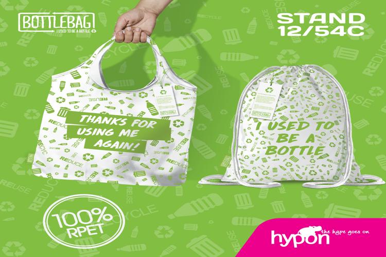 Duurzame tas van Bottlebag