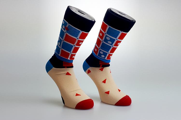 Custom Socks alles mag en kan