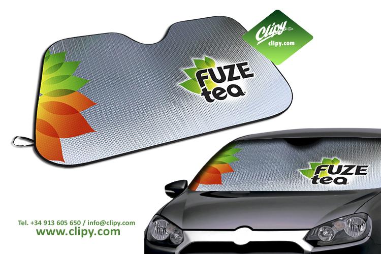 Clipy Carsunshades - Advertentie Zonneschermen Voor Auto's