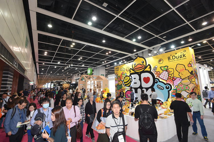 Meet & greet op vakbeurs in Hong Kong