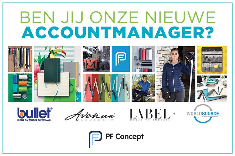 Accountmanager Nederland PF Concept gezocht