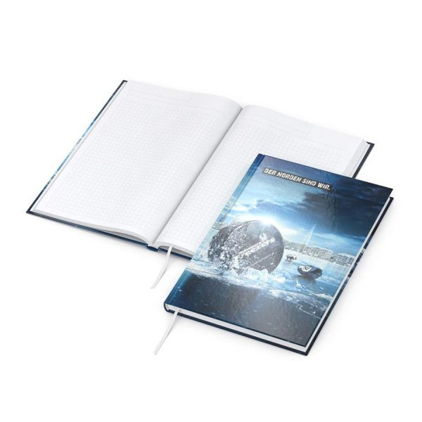 Note-Book A4 4C, digitaal hoogglanzend