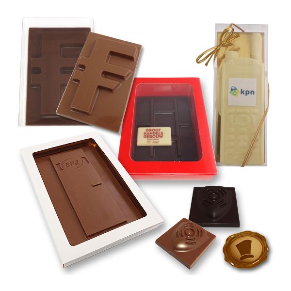Custom made chocolade