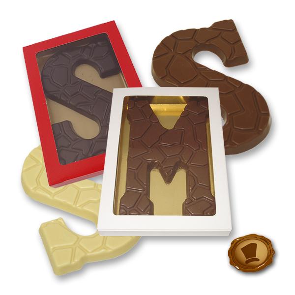 Chocoladeletter 175 gram - Schildpadmotief