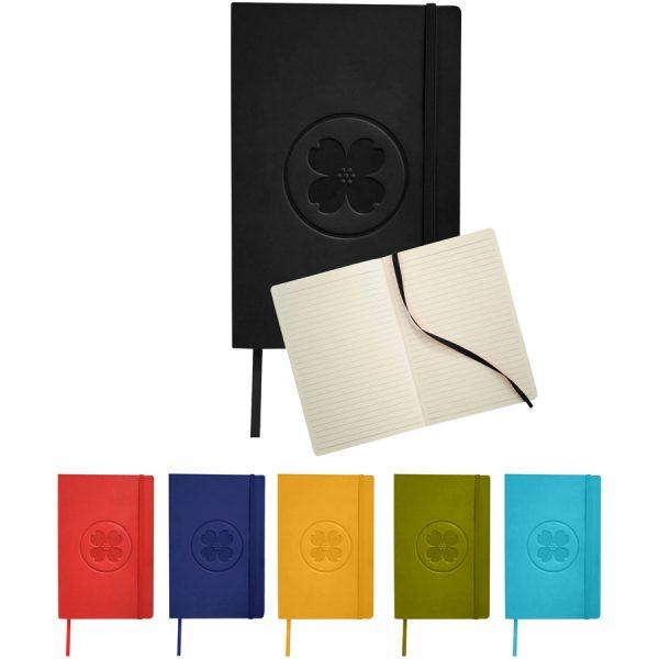 Classic soft cover A5 notitieboek met bedrukking