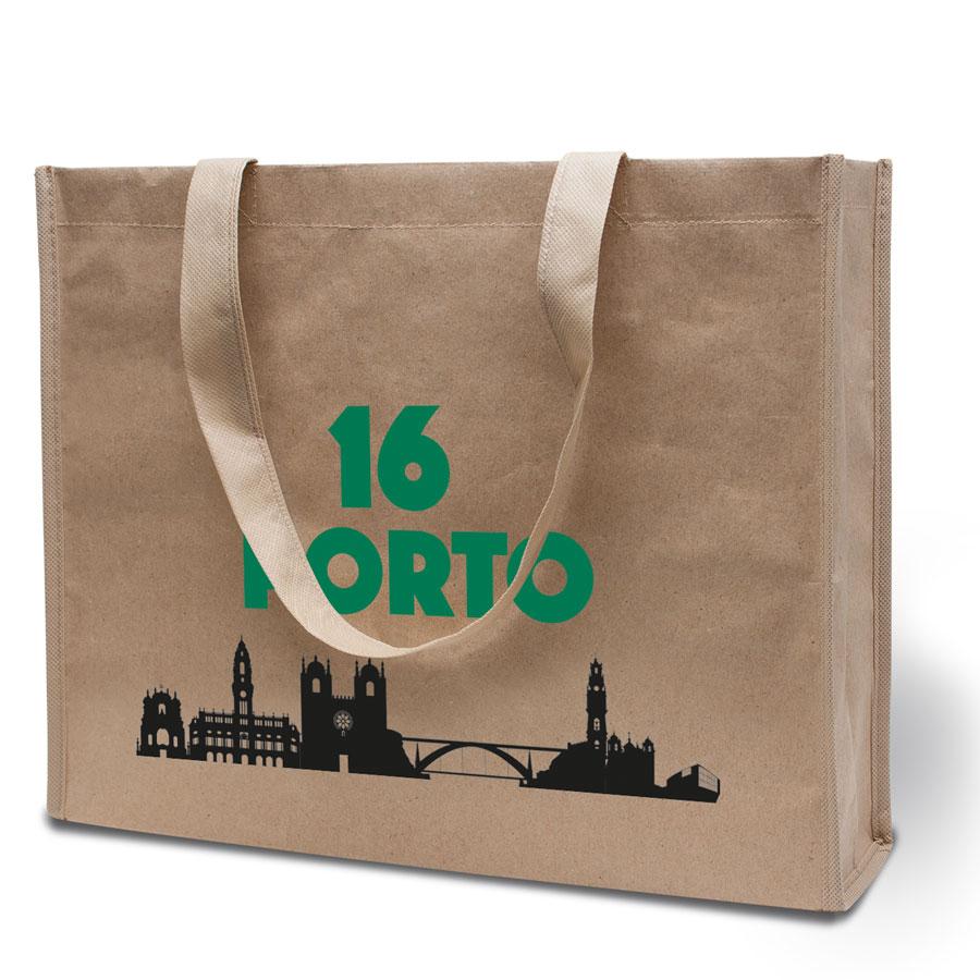 Duurzame tas Porto met bedrukking