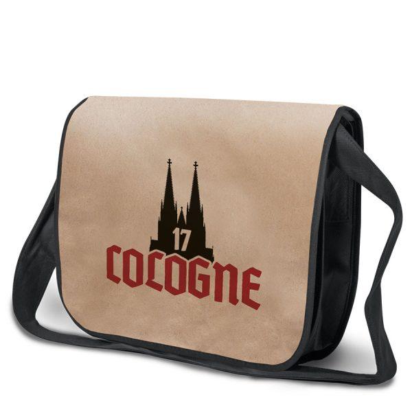 Bedrukte duurzame tas Cologne