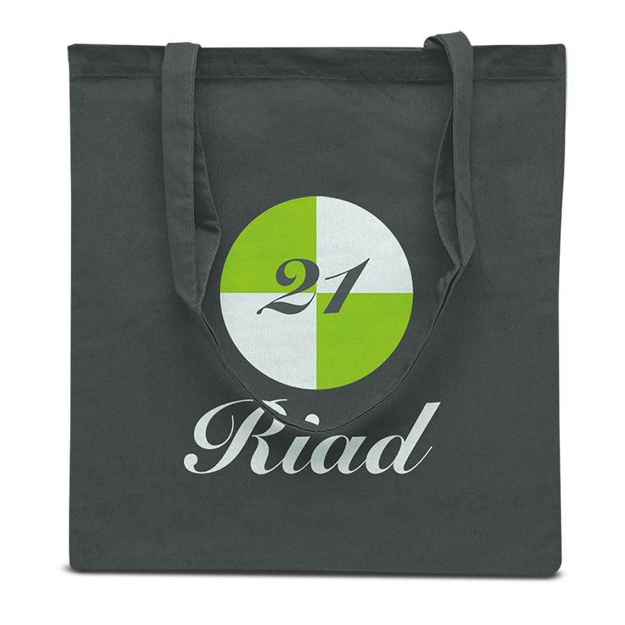 Bedrukte boodschappentas Riad