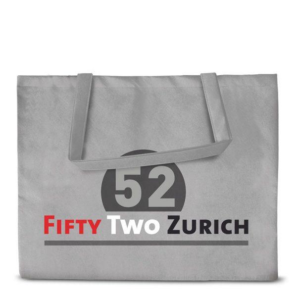 Bedrukte premium PP Non-woven boodschappentas Zurich