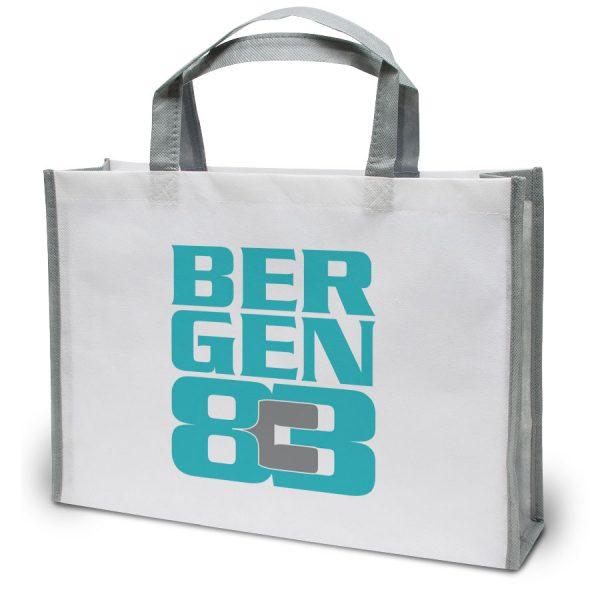 Opvallende bedrukte tas model Bergen