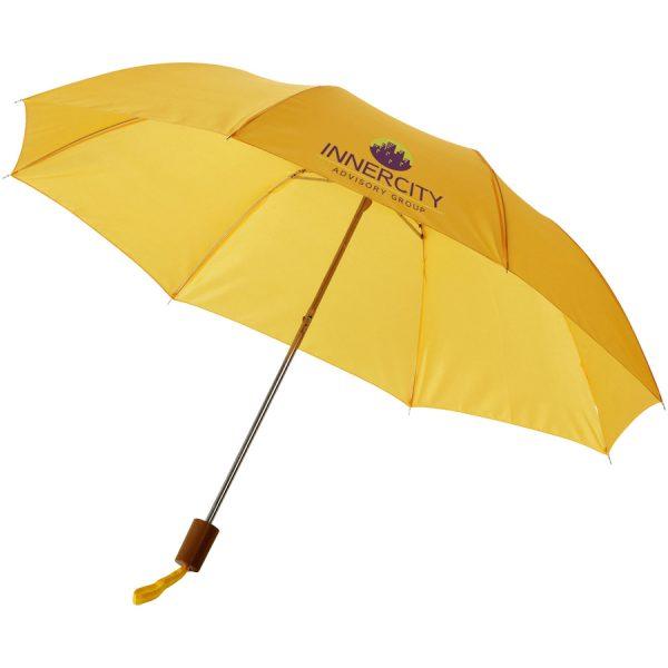 Oho 20inch sectie paraplu met bedrukking