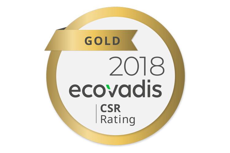 Xindao beloond met EcoVadis