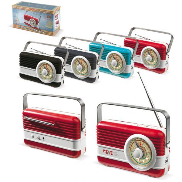 Powerbank 6000mAh & Retro Speaker 3W - LT91110