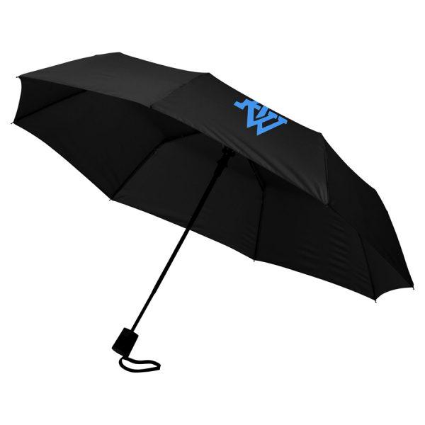 Wali 21inch 3 sectie automatische paraplu