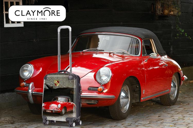 Slim onderweg met de Claymore gepersonaliseerde trolley!