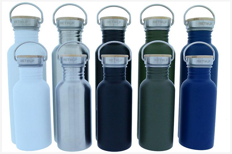 Retulp Urban Duurzame RVS drinkflessen