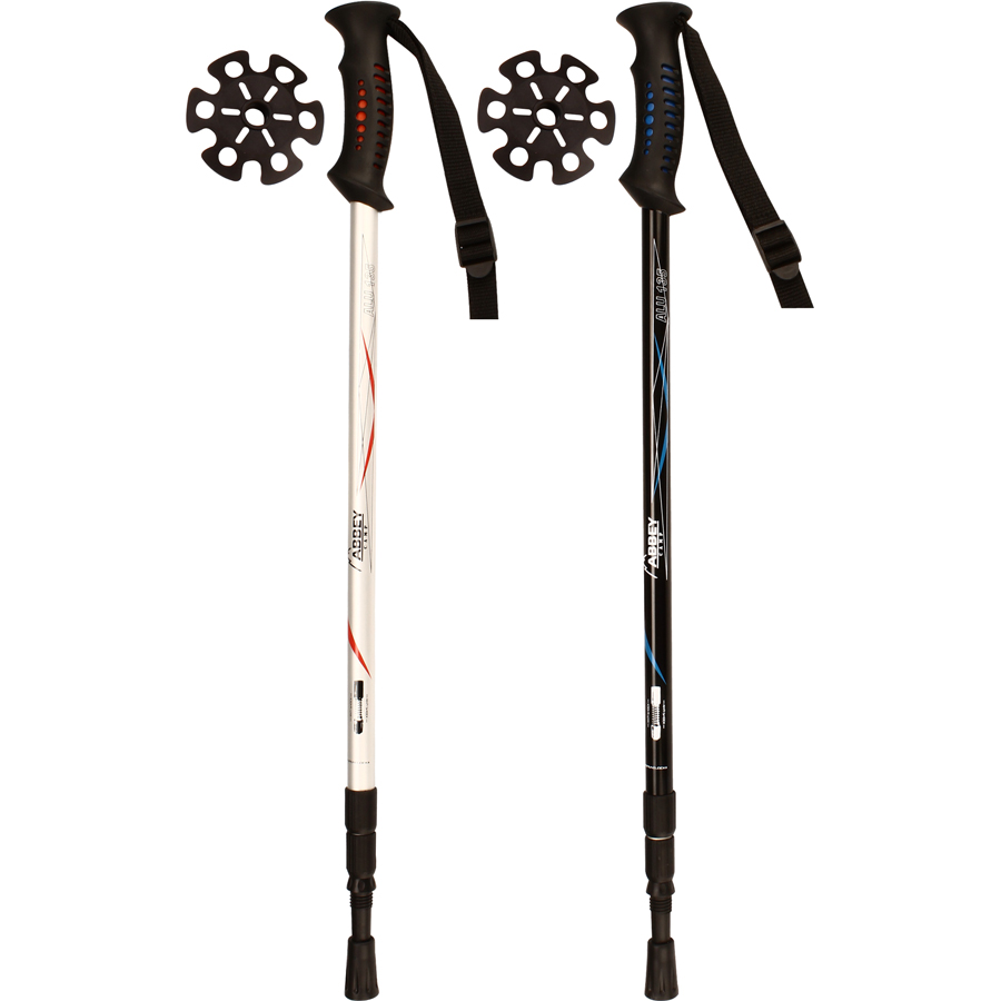 Hiking Cane Adjustable • Anti Shock •