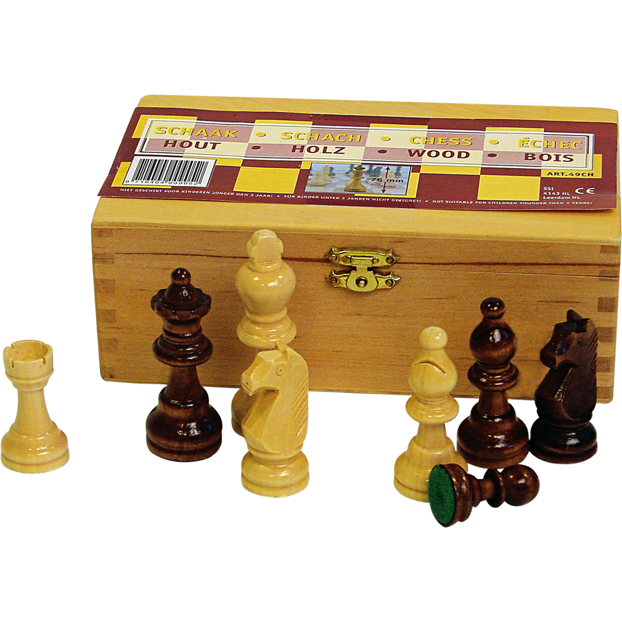 Chess Pieces • 76 mm •