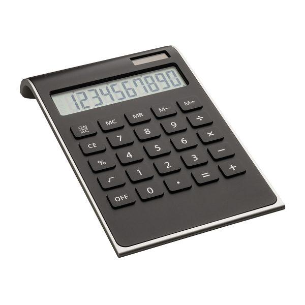 Calculator REFLECTS-VALINDA BLACK SILVER