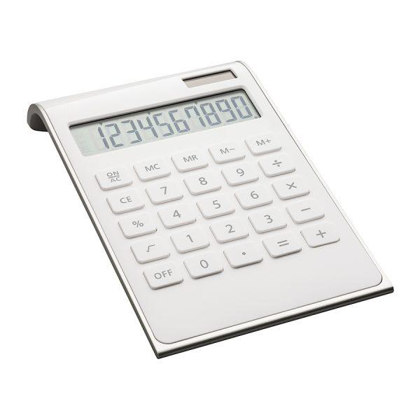 Calculator REFLECTS-VALINDA WHITE SILVER