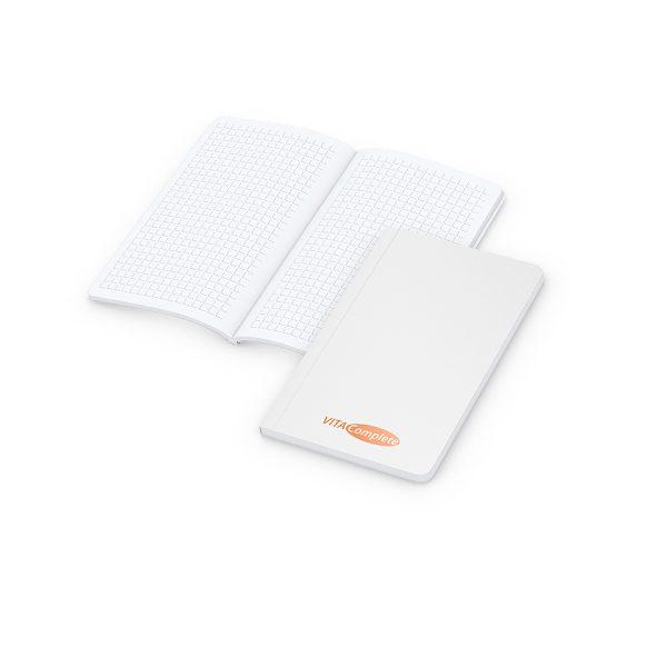 Copy-Book Wit  Pocket zeefdruk-digitaal