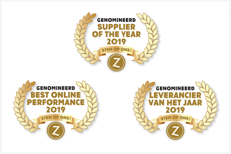 Nominaties Suppliers en Leveranciers of the Year 2019