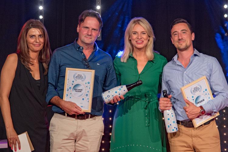 New Wave Textiles en Prodir eervolle vermelding Supplier of the Year 2019 categorie Specialist