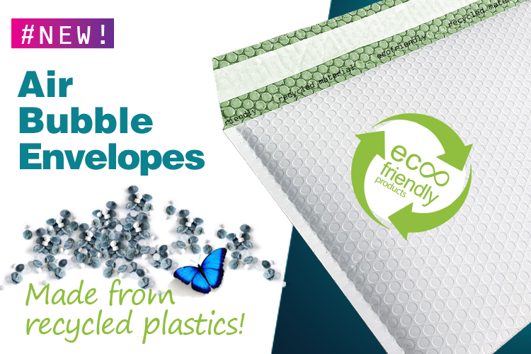 Recycled Bubble Envelopes