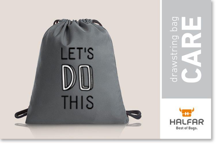 Drawstring bag CARE Halfar