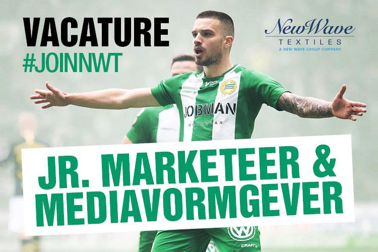 Junior marketeer mediavormgeving New Wave