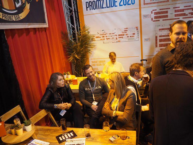 PromZ Café op PSI Düsseldorf 2020