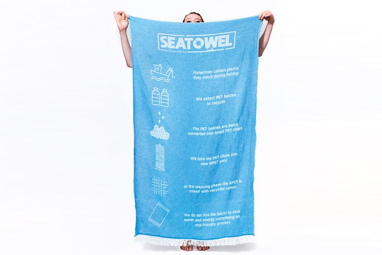 SeaTowel, 100% gerecyclede handdoeken Hypon