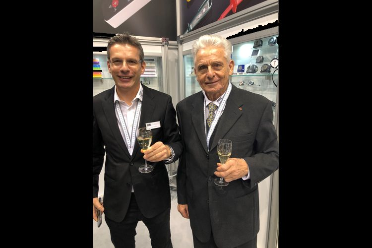 Meterex Oliver en Richard Kuntze