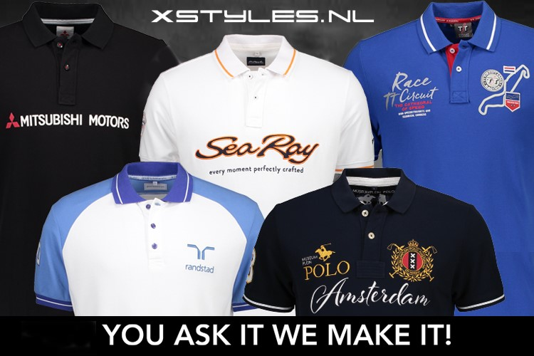 Custom made polo's by Xstyles