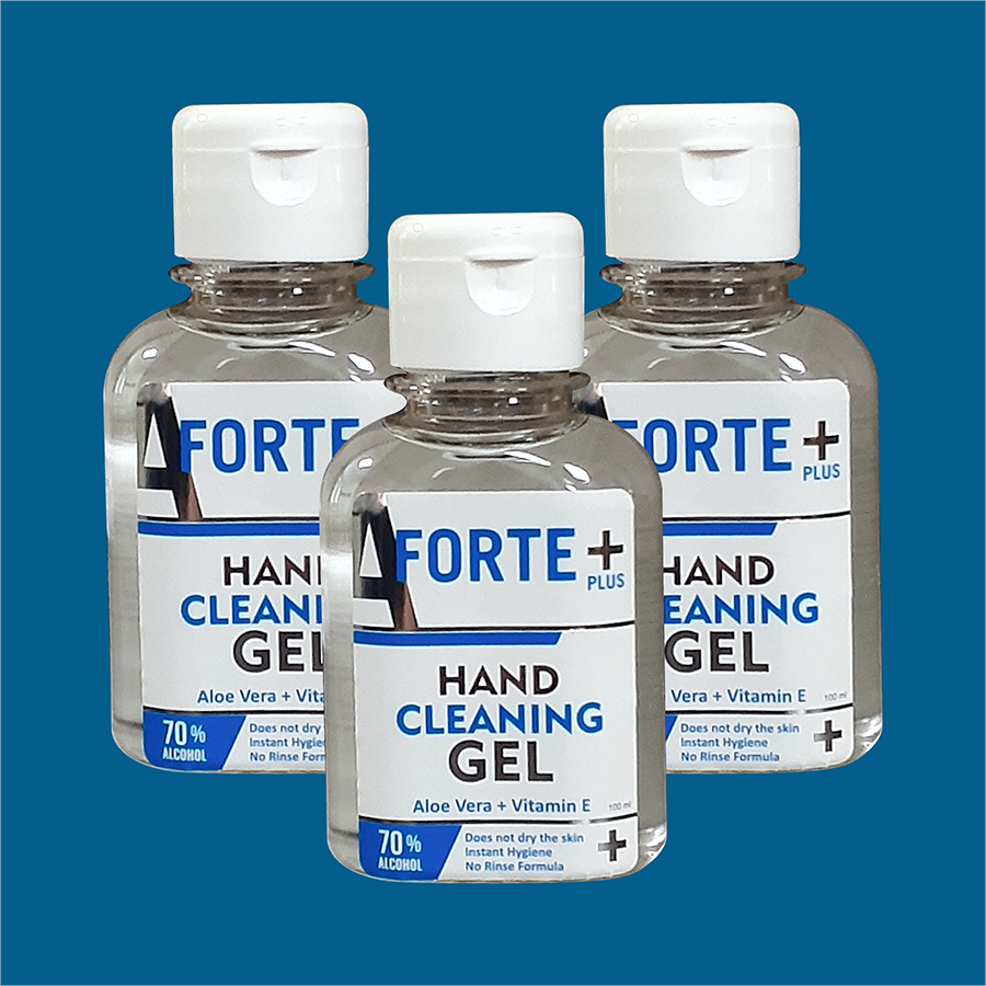 Hand cleaning gel 70% alcohol