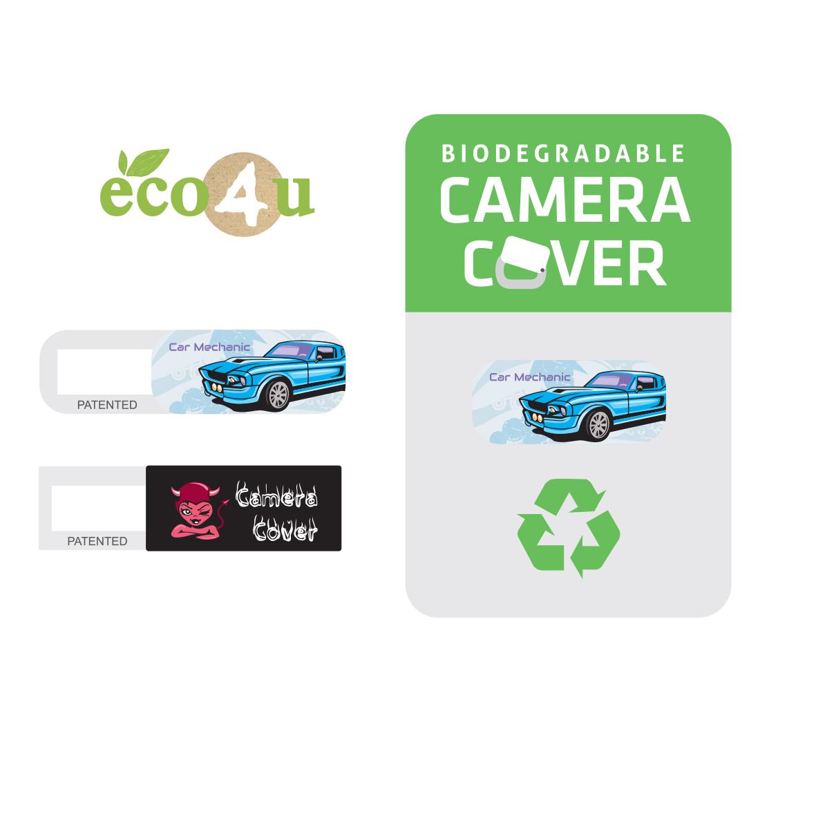 Biodegradable camera cover