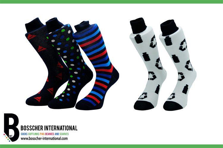 Custom made rPET sokken