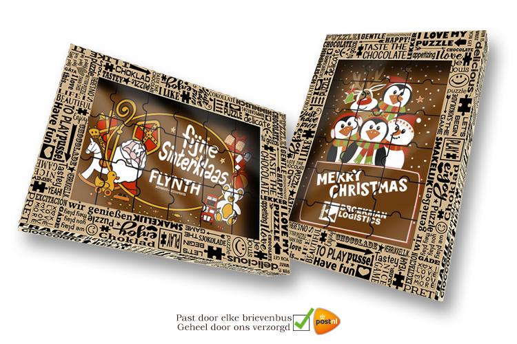 Eindejaars Chocolade Puzzels!
