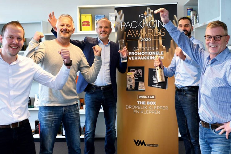 The Box wint NL Packaging Award!