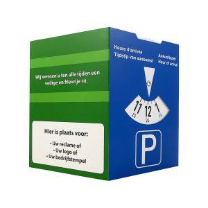 Meerzijdige parkeerschijf