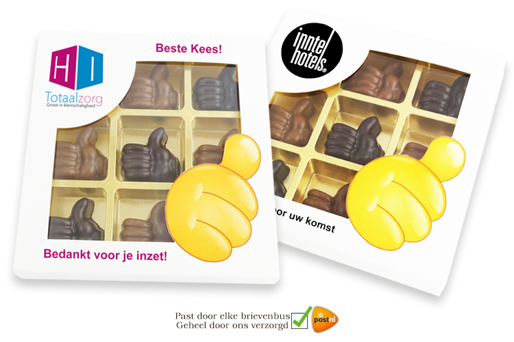Chocolade Complimentjes