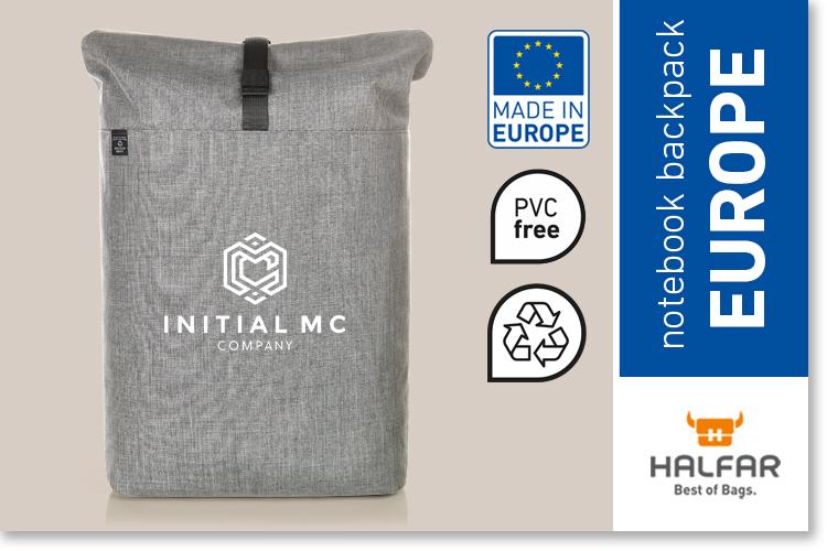 Notebook roller backpack EUROPE – HALFAR®