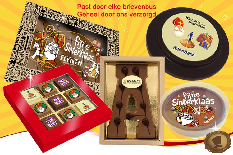 Sinterklaas relatiegeschenk choco-paradijs chocola